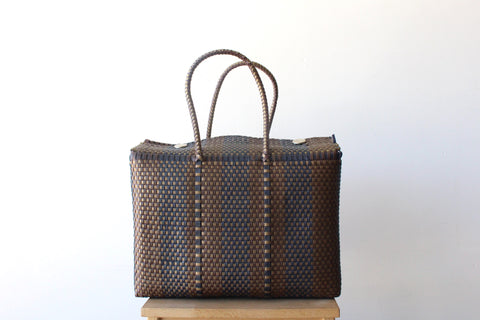 Brown & Navy Blue MexiMexi Basket