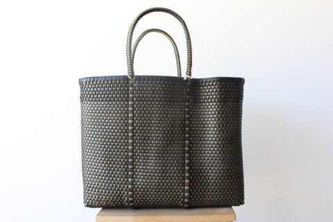 Black and Gold MexiMexi Tote Bag