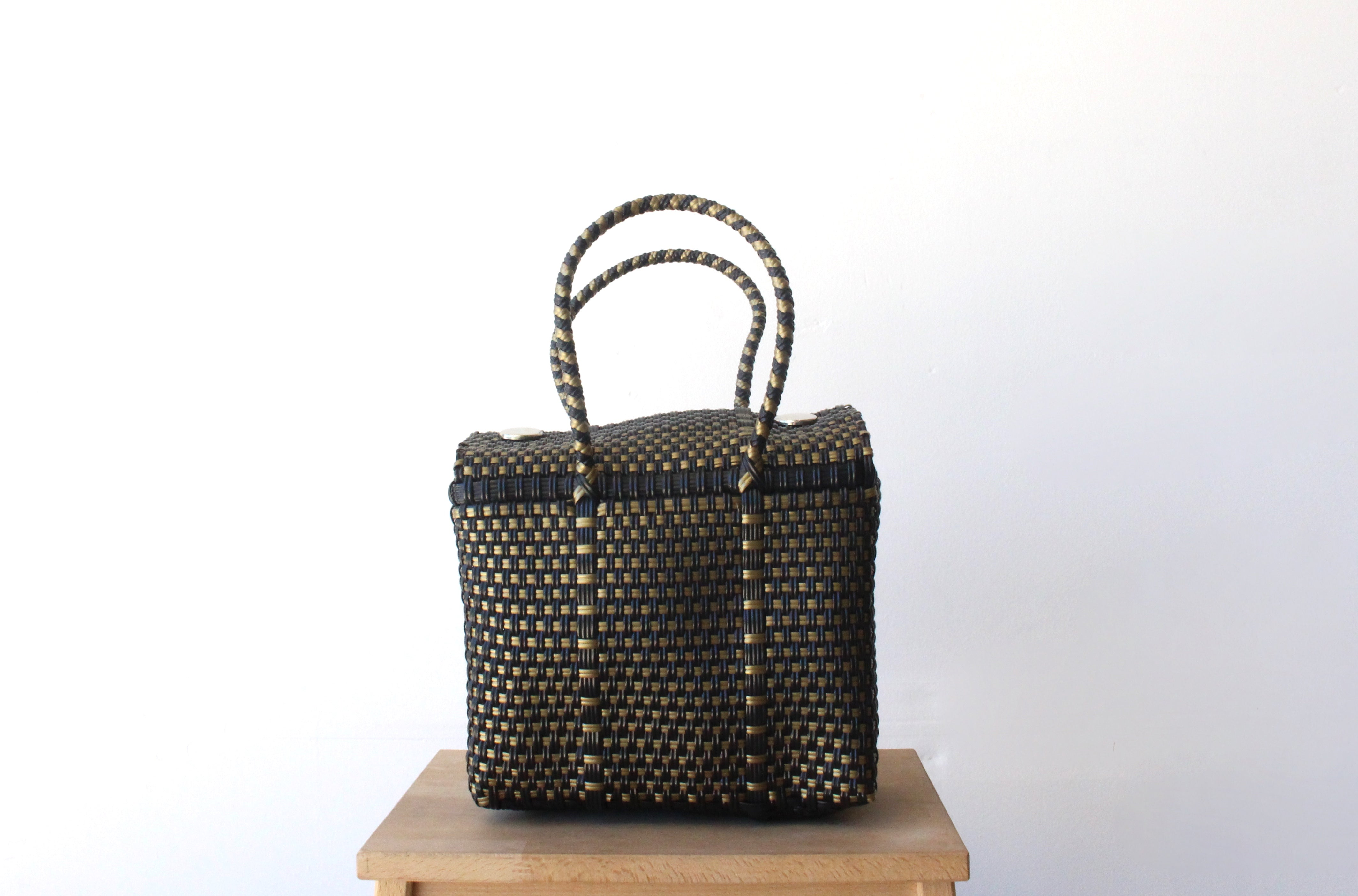 Black & Gold MexiMexi Handbag