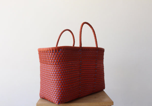 Orange & Purple MexiMexi Tote Bag