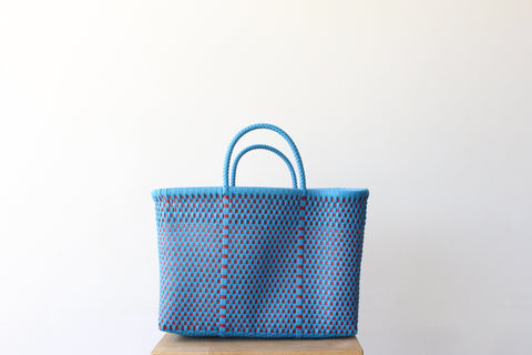 Blue & Red MexiMexi Tote Bag