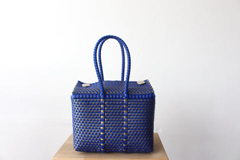 Blue & Gold MexiMexi Handbag