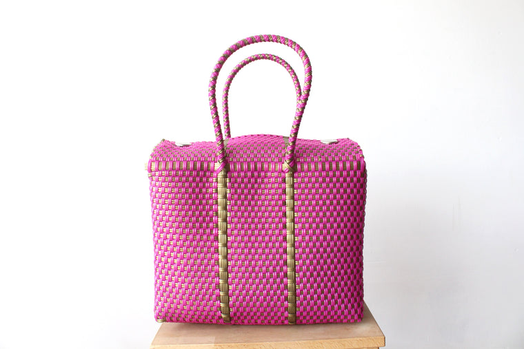 Pink & Gold MexiMexi Handbag