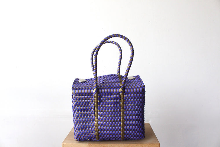 Purple & Gold MexiMexi Handbag