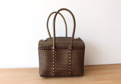 Brown & Gold MexiMexi Handbag