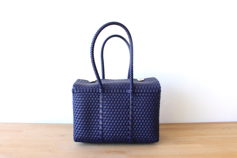 Navy Blue MexiMexi Handbag