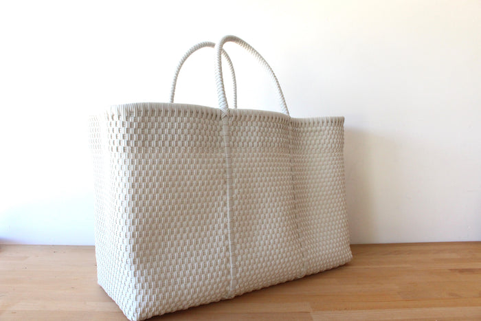 White Mexican Tote Bag