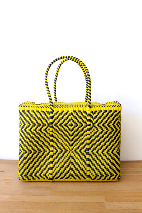 Yellow & Purple MexiMexi Basket