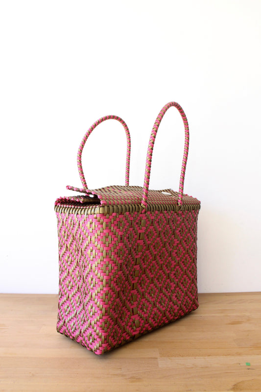 Coral & Gold MexiMexi Basket