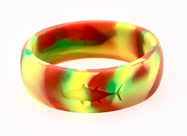 RASTA SILICONE TUNA RING