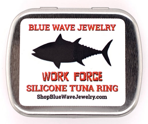BLACK WORK FORCE SILICONE TUNA RING