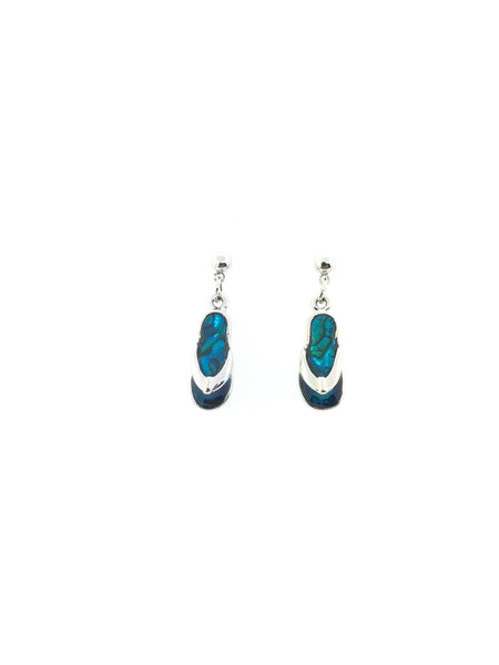 Abalone Shell Slipper Earrings