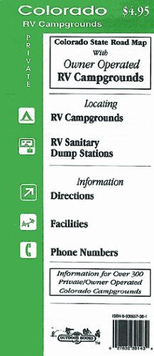 Colorado Private RV Campgrounds Map