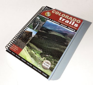 Colorado Trails Southwest (Spiral Binding)