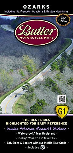 Ozarks Motorcycle Map