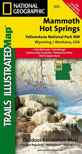 303- Yellowstone Northwest/Mammoth Hot Springs