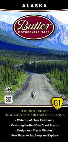 Alaska Motorcycle Map