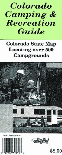 Colorado Camping & Recreation Guide Map