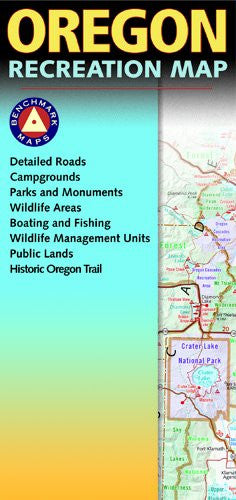 Benchmark Oregon Recreation Map