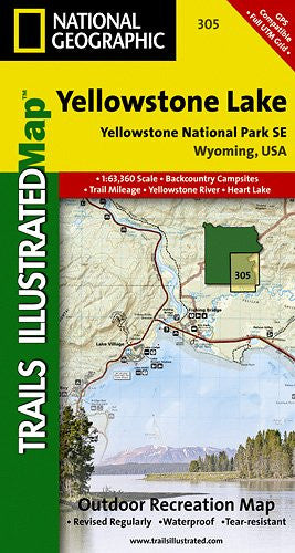 305- Yellowstone Southeast/Yellowstone Lake
