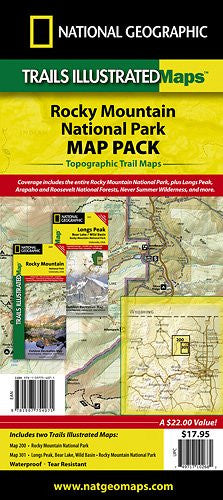 Rocky Mountain Map Pack (includes #200 and #301)