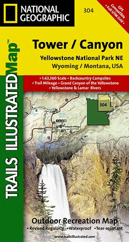 304- Yellowstone Northeast/Tower/Canyon