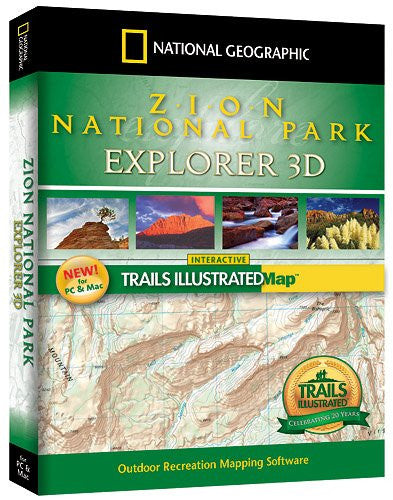 National Geographic Zion National Park Explorer