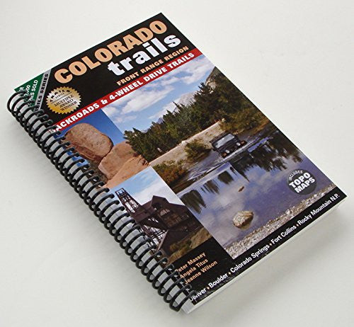 Colorado Trails Front Range (Spiral Binding)