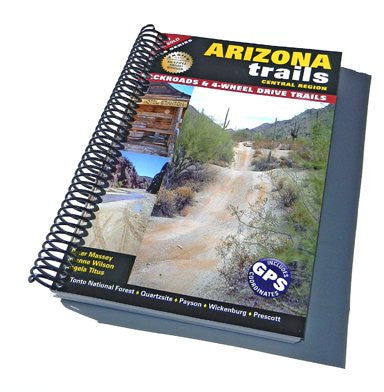 Arizona Trails Central Region (Spiral Binding)