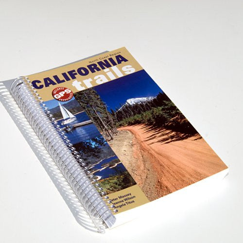 California Trails North Coast Region (Spiral Binding)
