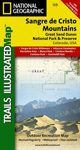 138- Sangre de Cristo Mountains, Great Sand Dunes National Park