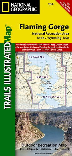 704- Flaming Gorge National Recreation Area/Eastern Uintas