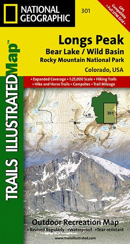 301- Longs Peak/Bear Lake/Wild Basin