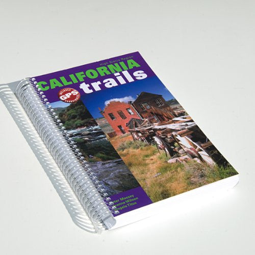 California Trails High Sierra Region (Spiral Binding)