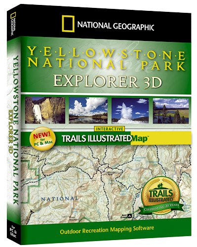 National Geographic Yellowstone National Park Explorer