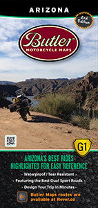 Arizona Motorcycle Map