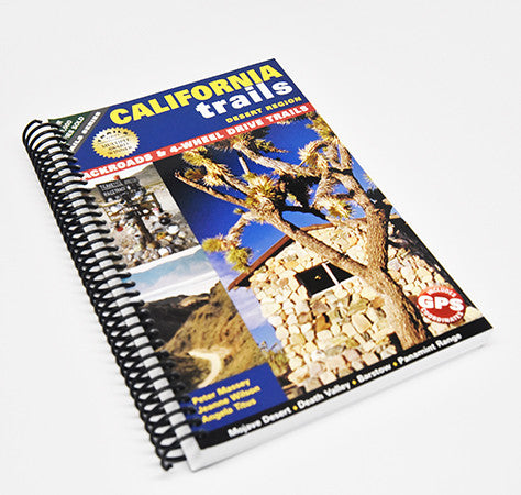 California Trails Desert Region (Spiral Binding)