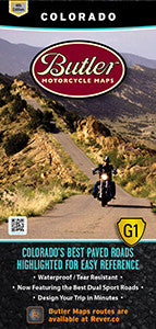 Colorado Motorcycle Map