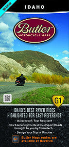 Idaho Motorcycle Map