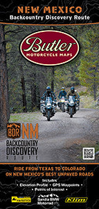 New Mexico Backcountry Discover Route Motorcycle Map