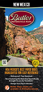 New Mexico Motorcycle Map