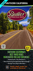 Southern California Motorcycle Map