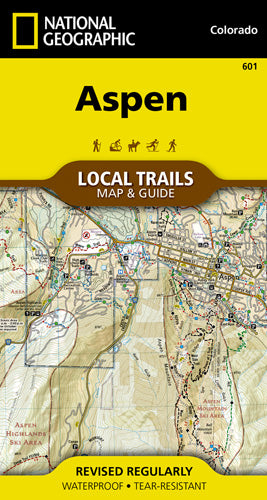601-Aspen Local Trails Map & Guide