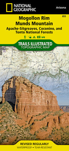 855- Mogollon Rim & Munds Mountain Wilderness Areas, Apache-Sitgreaves, Coconino, & Tonto National Forests