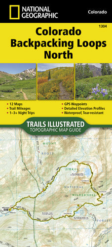 1304-Colorado Backpacking Loops North