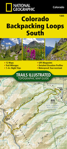 1305-Colorado Backpacking Loops South