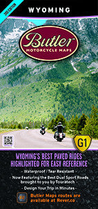 Wyoming Motorcycle Map