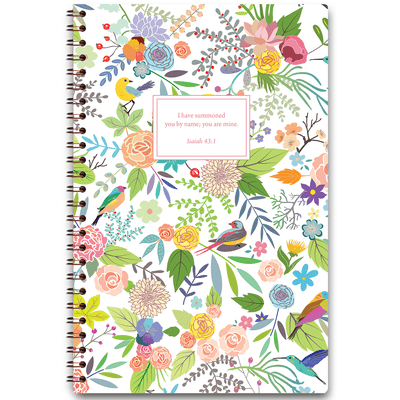 Birds in Paradise (Planner) Planner Paper Sunday No Wire Coil