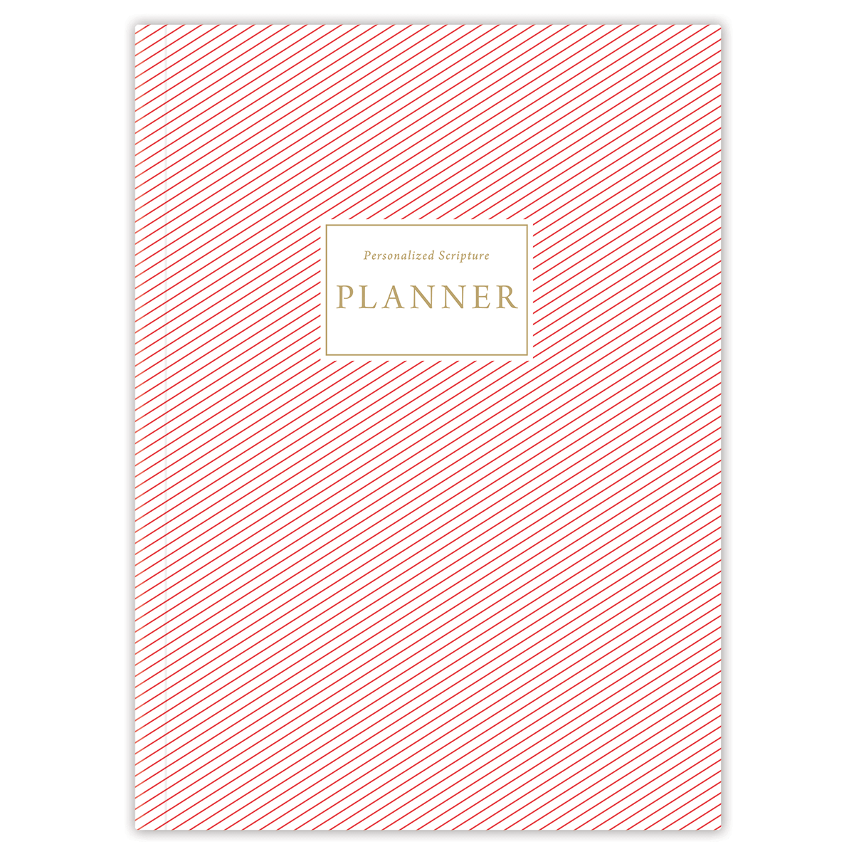 Red Stripes (Planner) Planner Paper Sunday No Softback
