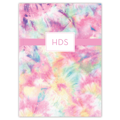 Tie Dye Journal Paper Sunday